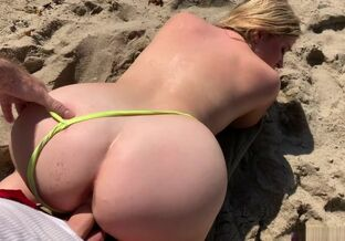 Swingers on the beach
